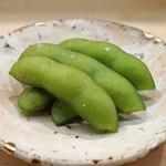 日本橋蛎殻町 すぎた - 枝豆