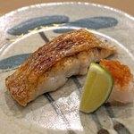 日本橋蛎殻町 すぎた - 赤むつ(のどぐろ)の塩焼き