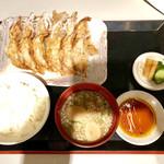 ぎょうざ処 亮昌 - ぎょうざ定食A 780円