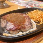 ステーキ宮 - 料理写真:◆てっぱんステーキランチ1,609円(税込み)