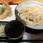 Ajimen - 天ぷらもりうどん(全景)
