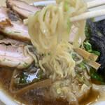 112819590 - ピロピロした粋な麺!カモン!
