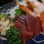 居酒屋漁 - 目の前の海で獲れた魚介類♪