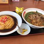 豊源 - 麺飯セット  756円(税込)