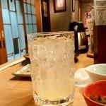 大衆天ぷら まねき屋 - 大衆天ぷら まねき屋@すすきの グレープフルーツサワー(350円外税)