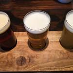 112824991 - 150mlづつの飲み比べセットで、自分の好みを確認。