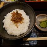 天満橋 吉安 - ご飯