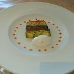 コートロティ - 前菜、野菜のテリーヌ