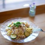 シーズナルラボ - 【夏季限定】夏野菜と豚の柚子胡椒パスタ