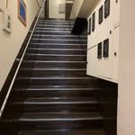 カッチャル バッチャル - 【2019.7.19】2階へ続く階段。
