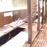 安城にこにこ餃子 - 店内②(半個室)