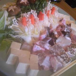 村崎荘 - 料理写真:くえ鍋2012
