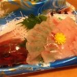 Buchiumaihigashi - ほうぼうの刺身 580円