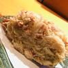 すし孝 - 料理写真:毛蟹。いったん肉と味噌を取り出し、混ぜ混ぜしてから甲羅に戻します。毛蟹はカニの横綱です