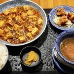 112842309 - 陳麻婆豆腐ランチ