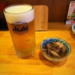 飲み喰い処 せい和 - 生ビールとお通し