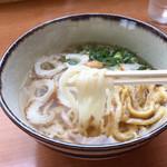 手打ちうどん 藤井 - 柔らかい麺
