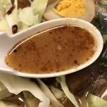 桂花ラーメン - スープ