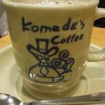 コメダ珈琲店 - カフェオレ