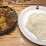 野菜を食べるカレーcamp -