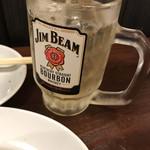112859299 - 餃座男(ギョウザマン)ジンビームハイボール