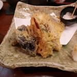 ゆう - 夏野菜の天ぷら