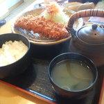 とんかつの喜多蔵 - 特醸黒豚ロース御膳