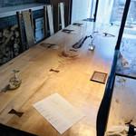 井上茶寮 - この大きなテーブル♥素敵でしょ(∩˃o˂∩)♡