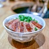 焼き鳥 とり篠 - 料理写真:☆ミニフォアグラ丼 1200円