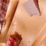trattoria Mon GATTO - アミューズ(カマンベールチーズ、スズキのケークサレ)