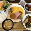 ホテルルートイン - 料理写真:和洋折衷の朝食