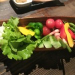 センマイル。 - 有機野菜の盛り合せ