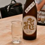 SANKAKU - 山廃純米 マルヒ No.77〈限定生酒〉@1,000円