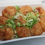 たこ焼処 かくれんぼ - 料理写真:岩塩ネギ(10個入)