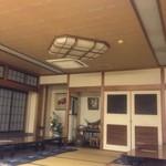 鮨の増田屋 - お座敷。