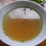 大黒屋飯店 - スープは付いてきます。