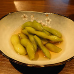 讃岐うどん酒房かんま - ・枝豆 \380