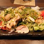 讃岐うどん酒房かんま - ・鶏の炙り ¥680