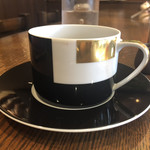 珈琲舎 蔵 - ブルガリのカップ