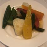 ガストンアンドギャスパー - スチーム野菜