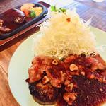 ラルコーン ルート63 - 料理写真:ハンバーグ&ステーキ、トンテキ&ハンバーグ