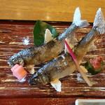 ひらせい - 錦川の天然鮎:1600円