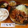 とんかつ ひで - 料理写真:豚しょうが焼き