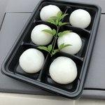 井上白玉屋 - 料理写真:白玉饅頭 6個入