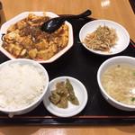 匠 - 麻婆豆腐定食  850円