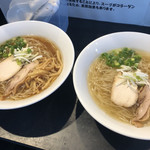 純系鶏蕎麦 琥珀 -