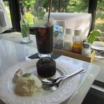 ガーデンカフェ別所 - フォンダンショコラ