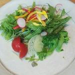112899935 - 三十三品目膳の季節のサラダ