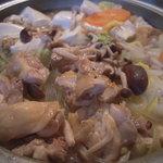 鉄板焼き居酒屋 道のえき - 地鶏鍋