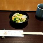 天ぷら ひさご - サラダ